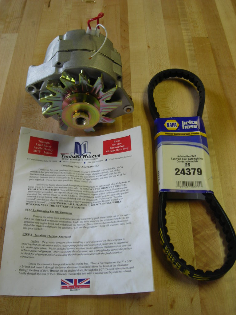 4 cyl alternator kit