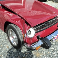TR6 Collision Repair and Restoration