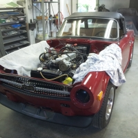 TR6 touch up