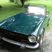 TR6 Refinish and some detailing