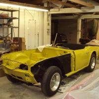 Yellow TR6