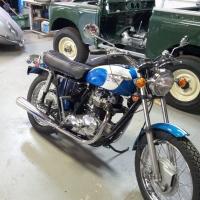 Triumph 650 TR6R