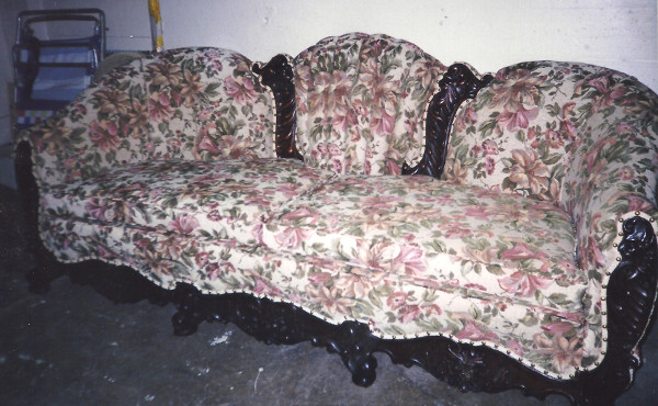 Antique Couch Finished