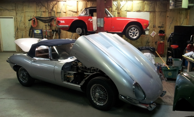 1961 Jaguar XKE Series 1 Roaster_3
